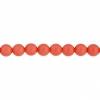 Czech Glass Beads 8In Strand 4mm (45pcs) Georgia Peach